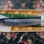 焼き魚では一番の好物♪北海道産秋刀魚の塩焼きと黒豆納豆でご飯をいただく