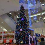 クリスマスイブ・・・セイコーマートの生クリームケーキ5号を2050円で購入しホームパーティ♪