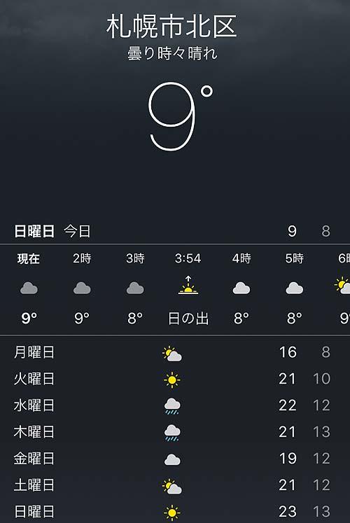 どんだけ涼しいん?札幌セミリタイヤ生活での6月気候とは?
