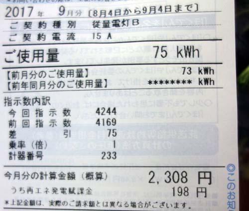 めちゃめちゃ涼しかった8月の札幌♪電気代はいったいいくら?(2017年8月)
