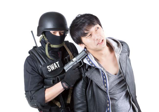 窃盗犯を現行犯で捕まえた!