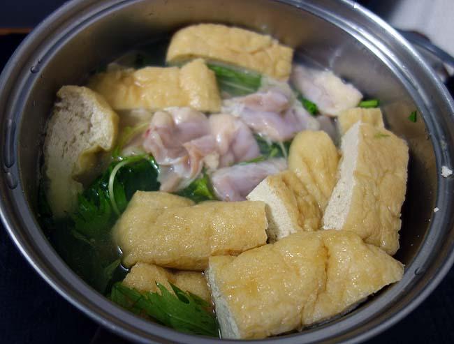 札幌は夜外に出るのが寒くなってきた・・・買い物行けずに手抜き「鶏生揚げ鍋」