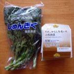 めっちゃ簡単な栄養価たっぷり副菜作り・・・本日は「春菊納豆辛子和え」