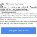 ブログの危機?GoogleからAMPでエラーが大量発生していると通達!この場合Sitemapの設定を疑え!
