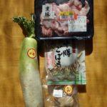 以前作って冷凍してた海鮮濃縮出汁と業務スーパー味噌汁の具を使って作った豚汁