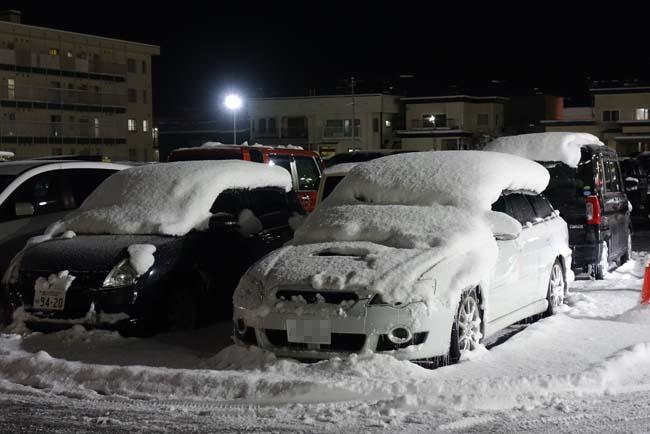 旭川の積雪は既にもう25㎝!旅から帰って来たと思ったら精神的なストレスもあり風邪こじらした