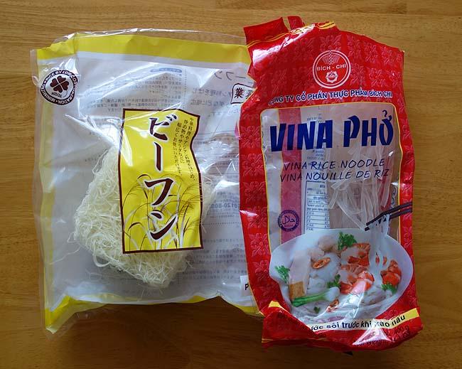 我が家の米麺を一掃!半額131円のイカゲソを使った「ピーマンニラ焼きビーフン」