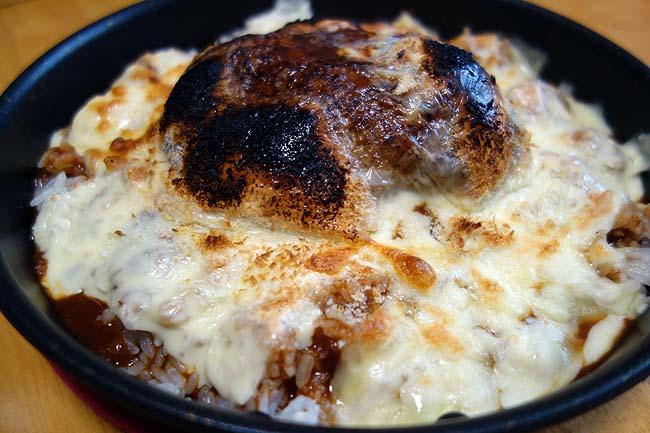 ベビーフェイスプラネッツの「ハンバーグドリア」が食べたい!ご要望にお応えしての自作