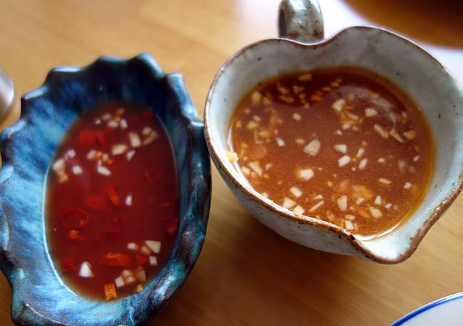 バンコク旅行から帰って来て・・・反面教師として2種類のタレを使ったカオマンガイ