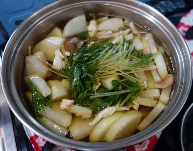 関西風お雑煮!白みそ仕立て&すまし汁で2018年お正月を迎えました♪