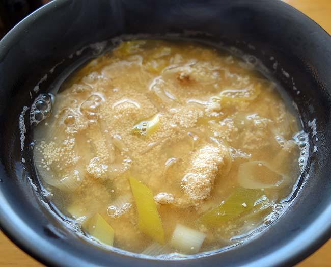 助宗タラの子を使って煮付けを作ろうとしたら鱈の子汁になっちまった・・・