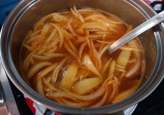 本格タイスープ料理「トムヤムクン」は業務スーパーで発売されている鍋・スープの素だけで充分!