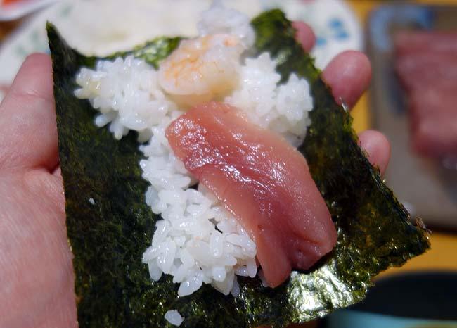 訳あり送料無料1000円の有明海苔を使うと普段の半額手巻き寿司ご飯をどう変化させる?