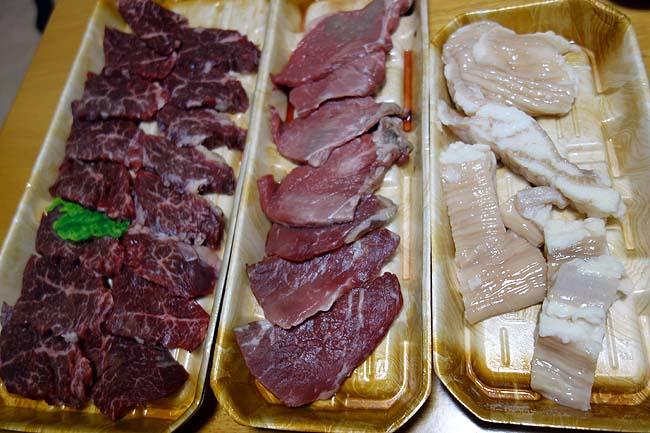 月に1度の焼肉デー♪半額ハラミ・シマチョウ・モモ肉を使い1人頭400円でやっちゃいます