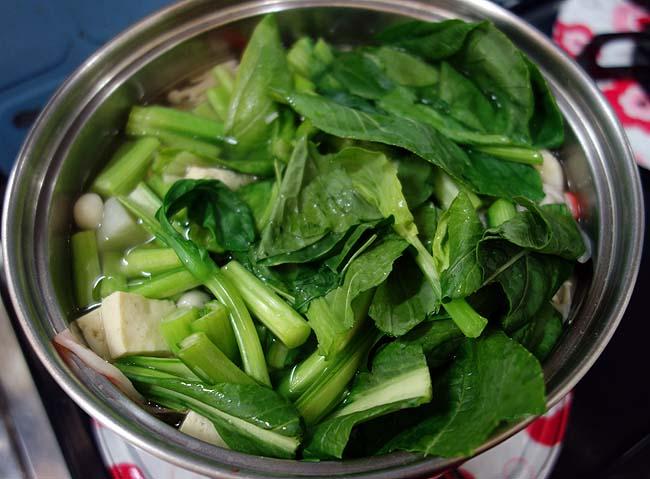 片栗粉をぶちまけた次の日の夜は・・・優しい味わいの「野菜あんかけ」うどん・そば