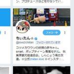コツメカワウソの妖精の赤ちゃん「ちぃたん☆」にTwitterフォローされた!