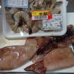 イカと海老がたっぷり!ペペロンチーノ和風醤油バターパスタ(節約パスタを少し贅沢に)