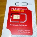 世界150ヵ国対応繰り返し使えるプリペイドSIMカード「flexiroam」次の渡航先はどこへ?
