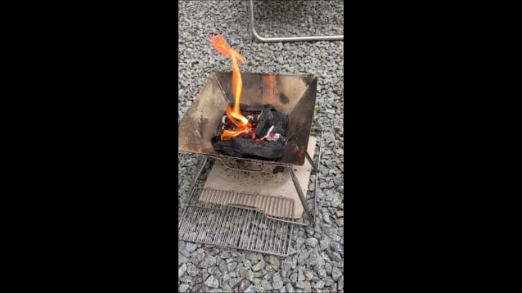 【北海道旭川日帰りバーベキューその1】大都会とは違いどこでも焚火台使ってBBQはしやすいですね