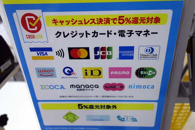 プレミアム付商品券とクレジットカードの併用は可能?DZmartとセイコーマートで比較