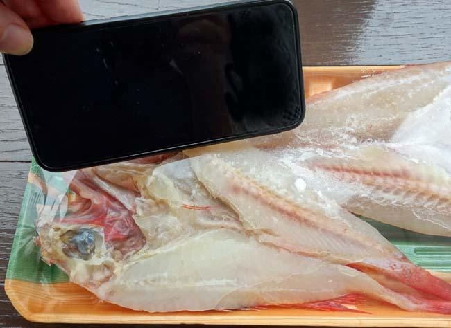 高級魚「きんき」の開きがなんと1尾120円!!この白身の味わいは最高だ