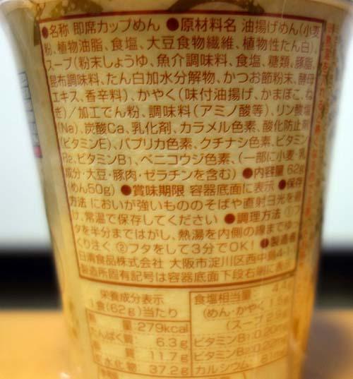 日清食品やからこそこのカップ麺を購入してみた「日清の京うどん」が60円!