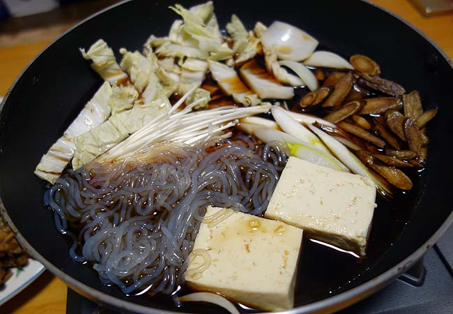 A5ランク松阪牛を使ったお正月にできんかった「豪華すき焼き」をやってみた♪