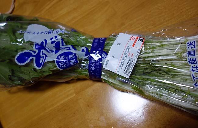 水菜が4束で30円!シャキシャキ水菜たっぷり牛豚しゃぶ鍋にしました♪