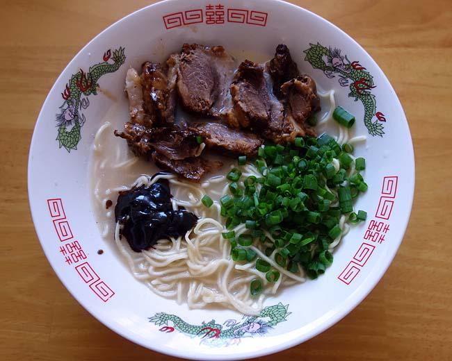熊本らーめん「もっこす亭」我が地元のもっこす中華そばとは全く違う豚骨味