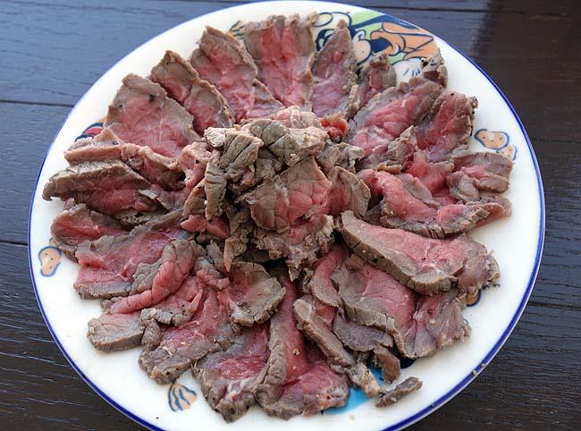 半額100g100円で手に入れたオージー牛を使った「ロースビーフ作り」