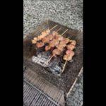 【北海道旭川日帰りバーベキューその5】炭火焼で食べたいのは焼鳥!一番大好物な部位ハツこころ